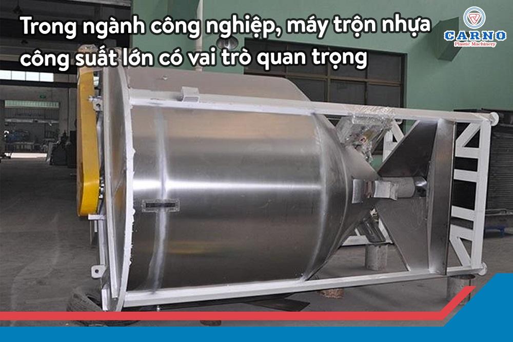máy trộn nhựa công suất lớn