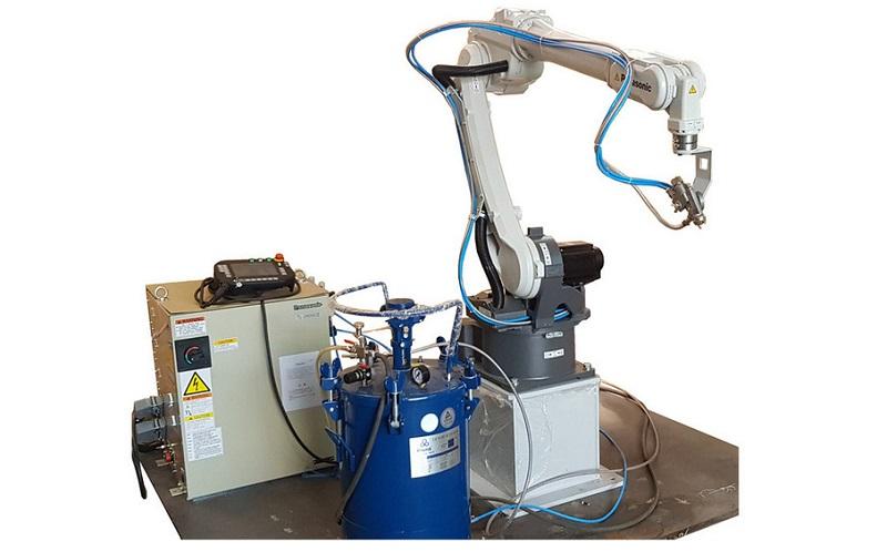 robot gắp sản phẩm nhựa